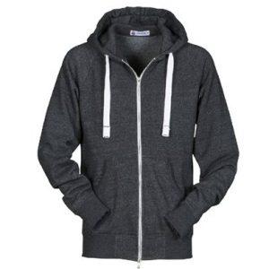 Fleece i hoodie